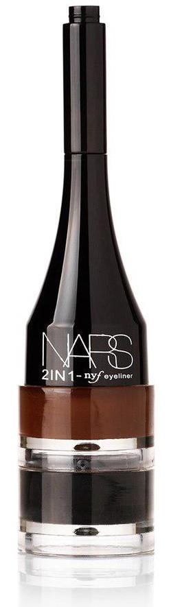 Гелевая ПОДВОДКА для бровей NARS 2 in 1 ( 2 оттенка - коричневая, черный ) | 989