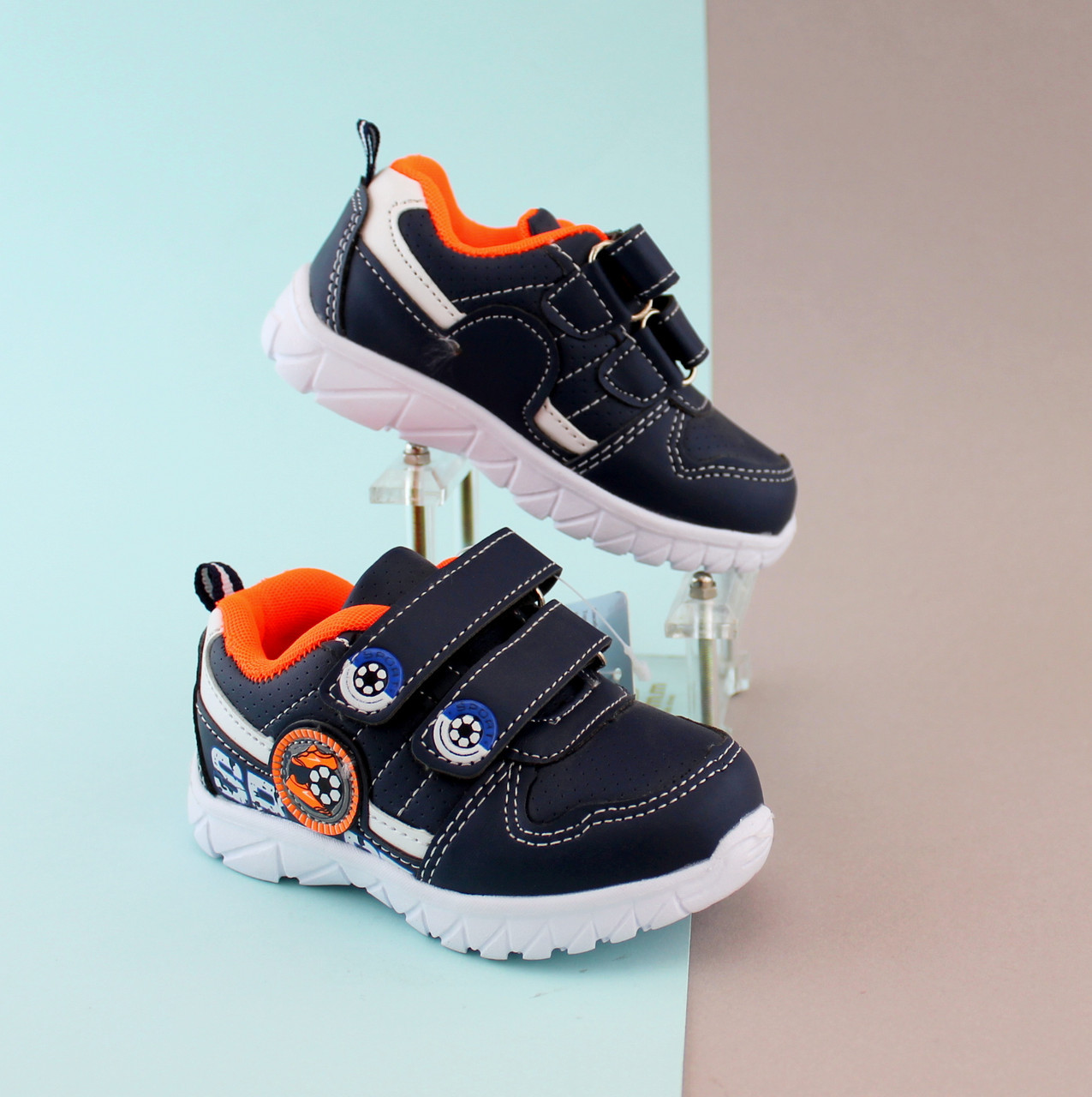 Кроссовки на мальчика легкая спортивная обувь Тom.m р. 21,22