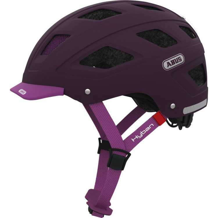 Шолом велосипедний ABUS HYBAN M Core Purple