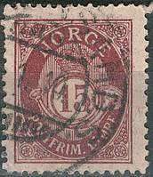Norge - Норвегія 1908