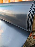 Пленка черная плотная 250 мкм. 3м.х 50м рулон. Полиэтилен (строительная, для мульчирования)