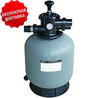 Песочный фильтр для бассейна Emaux V350; 4.32 м³/ч; верхнее подключение