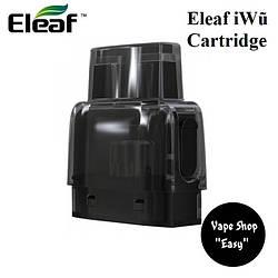 Eleaf iWu Cartridge 2ml 1.3 ом  Сменный картридж для под системы Eleaf iWu ОРИГИНАЛ.