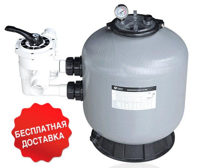 Песочный фильтр для бассейна Emaux S800; 24.1 м³/ч; боковое подключение