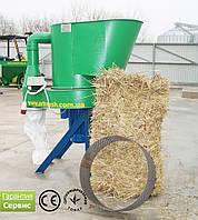 Измельчитель сена и соломы  380В, 11 кВт (сенорезка, соломорезка)