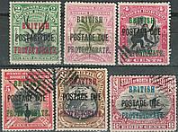 Северное Борнео - North Borneo 1903-1911