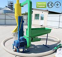 Измельчитель зерна промышленный 380 В, 15 кВт (для пшеницы, овса, ржи, кукурузы)