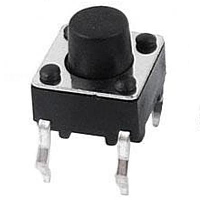 Кнопка тактовая 6х6х5мм 4-х контактная
