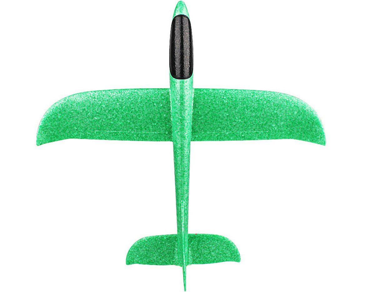 Детский планирующий самолетик, самолет для детей (Зеленый)