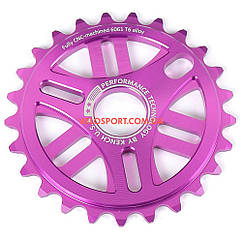 Звезда Kench 25T для BMX пурпурная