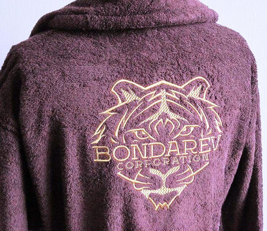 Заказать халат с надписью