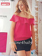 Летняя блузка Pepperts на девочку 7-8 лет, рост 128