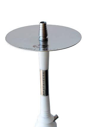 Кальян Dobletoke Easy Blow limited edition White высота 72 см на 1 персону прозрачная Candy, фото 2