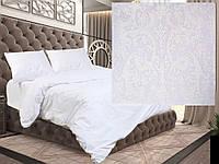 Евро постельное белье бязь голд - Белый свет