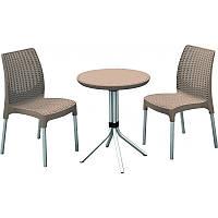 Комплект мебели Keter Curver CHELSEA 17199261 (2 стула, стол)