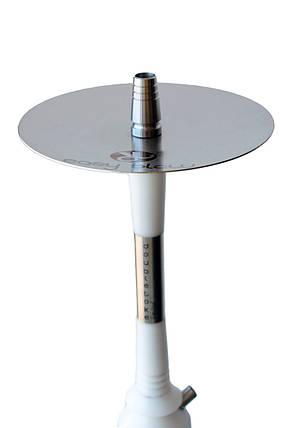 Кальян Dobletoke Easy Blow limited edition White висота 72 см на 1 персону чорна Bohema, фото 2