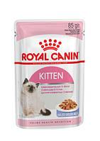 Влажный корм Royal Canin Kitten Instinctive in Jelly - корм Роял Канин кусочки в желе для котят 0,85кг