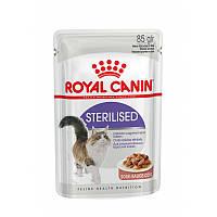 Влажный корм Роял Канин / FHN WET STERILISED для стерилизованных / кастрированных котов85g