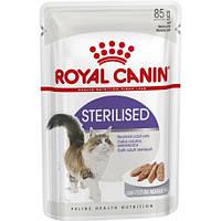 Влажный корм Роял Канин / FHN STERILIZED LOAF Royal Canin консервы паштет 85 г для стерилизованных / кастрированных котов