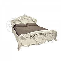 Двоспальне ліжко 160х200 без каркасу у спальню Олімпія Радіка Беж Міромарк