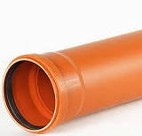 Труба 110 для наружной канализации 3м