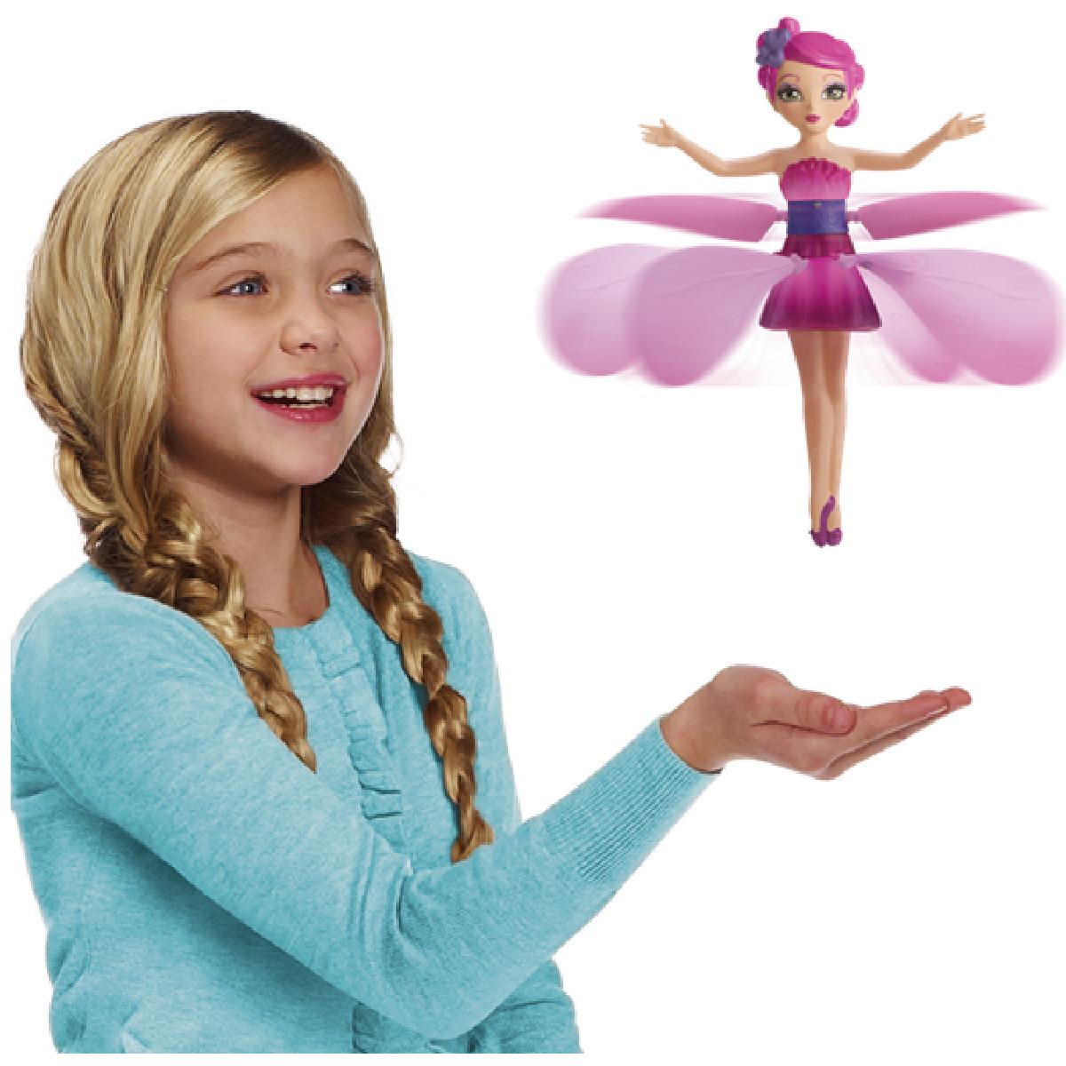 Летающая кукла фея Flying Fairy Интерактивная игрушка-кукла без подставки!