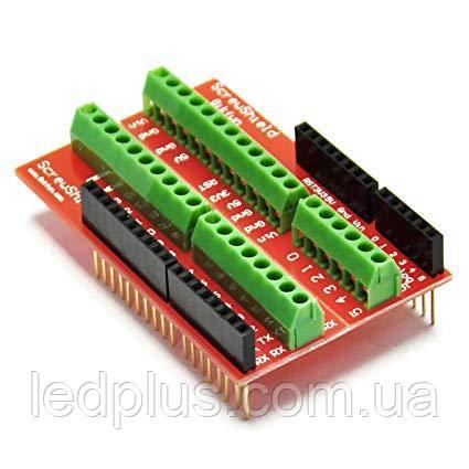 Плата расширения Arduino Uno Screw Shield (винтовые клеммники)