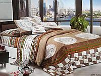 Двуспальное постельное белье бязь голд - Шахматное гучи