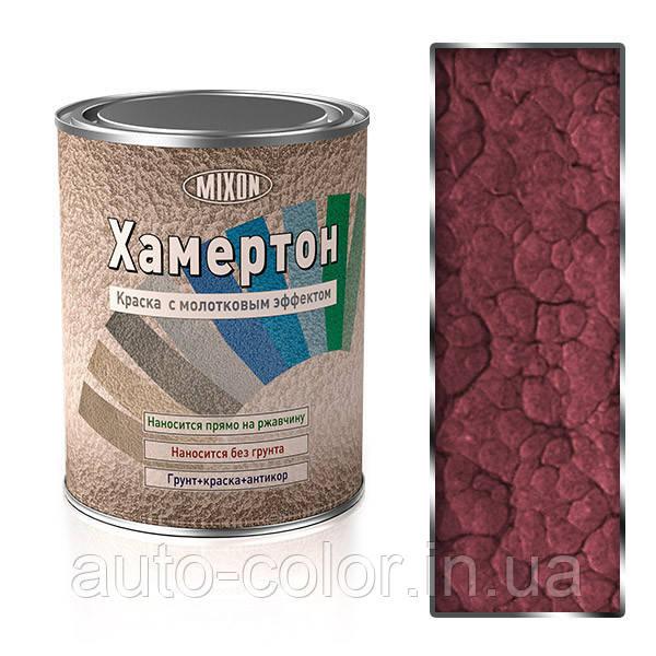 Фарба молоткова Хамертон 508 червона 0,75 л