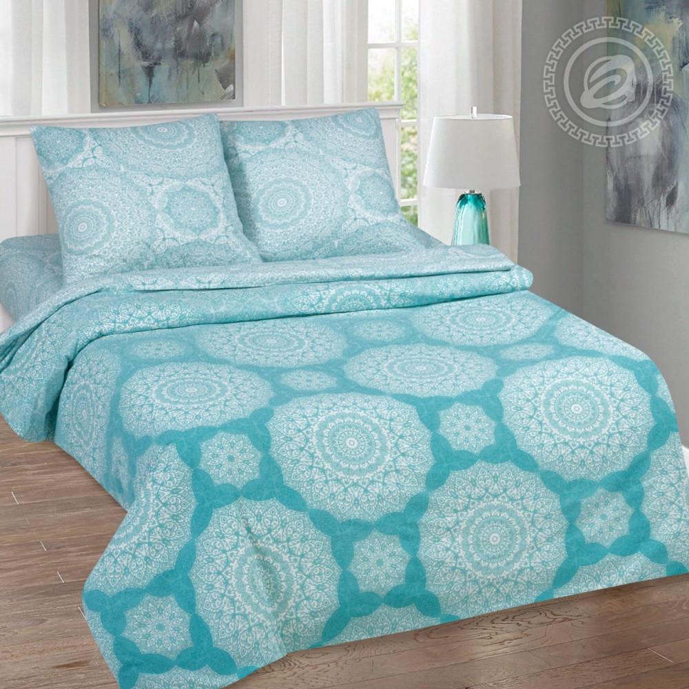 Постельное белье Марокко поплин  ТМ  Комфорт-текстиль  (Двуспальный)