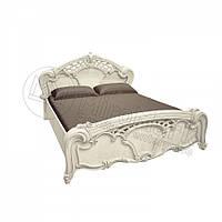 Двоспальне ліжко 160х200 з каркасом у спальню Олімпія Радіка Беж Міромарк