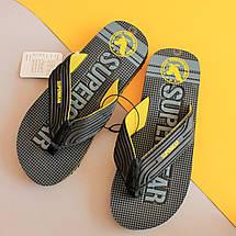 Вьетнамки для мальчиков обувь на пляж тм Super Gear р.41, фото 2