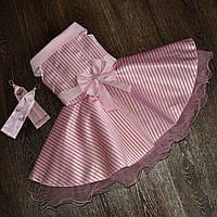 Ошатне плаття в горох для дівчинки.Стиляги., фото 1