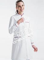 Халат медичний жіночий MED-W04 (кольори в асортименті), фото 1