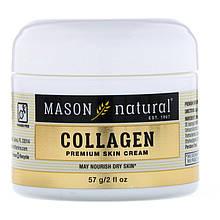 """Антивозрастной крем с коллагеном Mason Natural """"Collagen Beauty Cream"""" аромат груши (57 г)"""