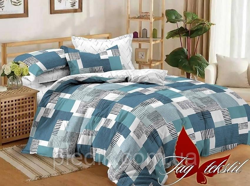 Комплект постельного белья Семейный, сатин TAG S306