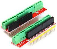 Плата расширения Arduino Uno Screw Shield V2 (винтовые клеммники)