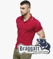 Мужская футболка поло 6093 красный, фото 1