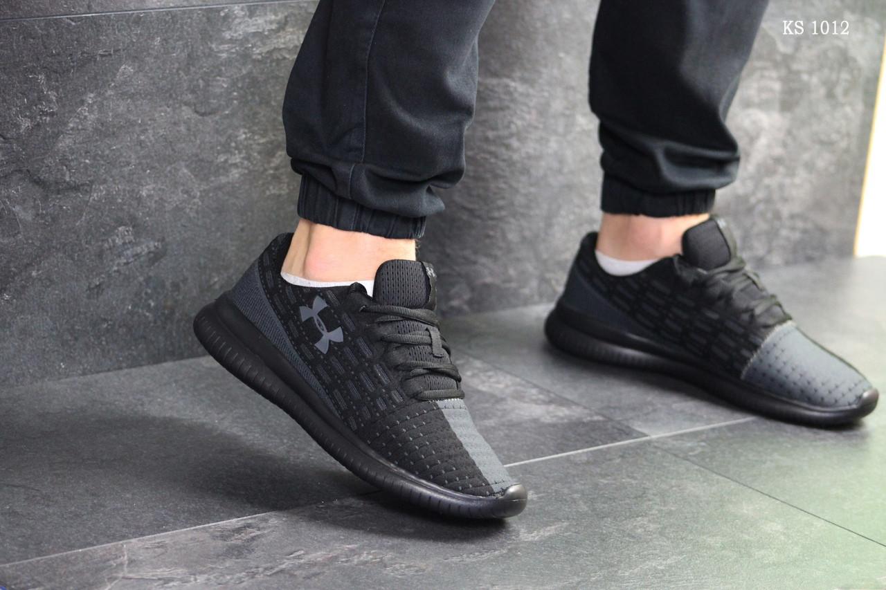 Мужские кроссовки Under Armour (черные)