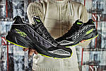Мужские кроссовки Reebok DMX (черно/зеленые), фото 4