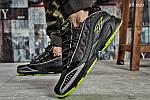 Мужские кроссовки Reebok DMX (черно/зеленые), фото 5