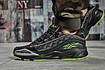Мужские кроссовки Reebok DMX (черно/зеленые), фото 6