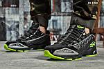 Мужские кроссовки Reebok DMX (черно/зеленые), фото 7