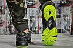 Мужские кроссовки Reebok DMX (черно/зеленые), фото 8