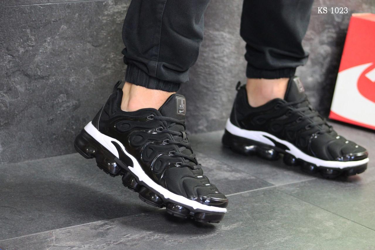 Мужские кроссовки Nike Tn Air (черно-белые)