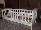 Детская кроватка с бортиками Baby Dream Konfetti белая, фото 6