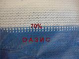 Сітка затінюють біло-блакитна 4м 70% Угорщина, фото 7