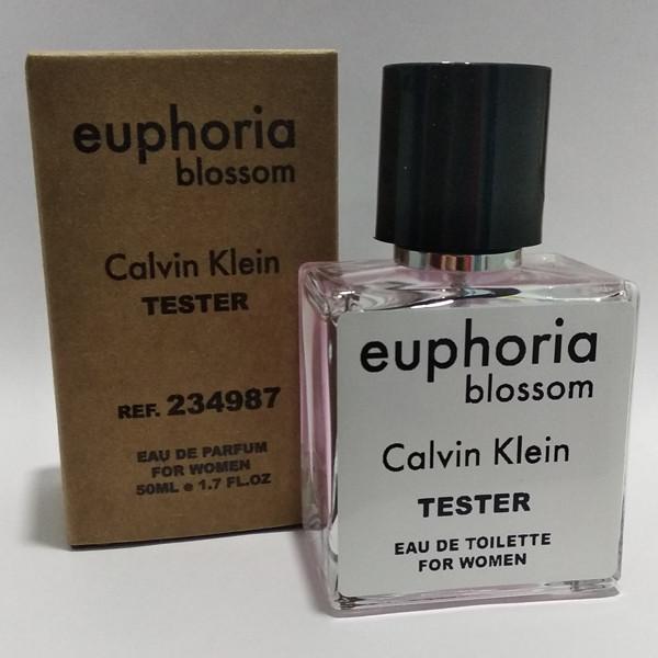 Женская парфюмированная вода Calvin Klein Euphoria Blossom (Кельвин Кляйн Эйфория Блоссом) 50 мл тестер|tester
