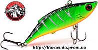 Воблер Раттлин ZUOFILY тонущий зеленый 80 мм