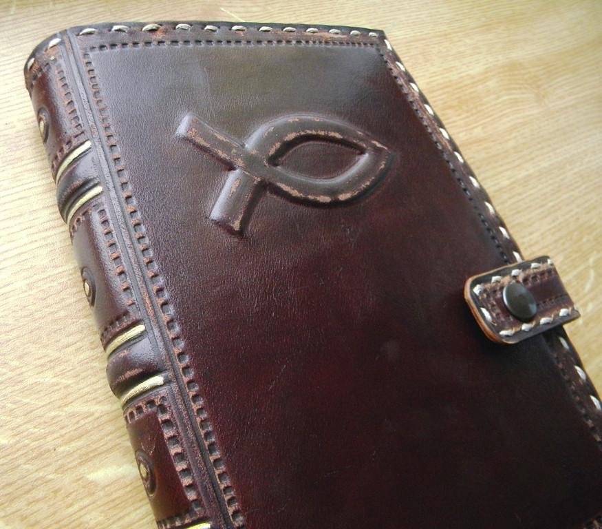 Обложка кожаная для Библии